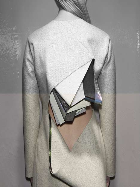 Layered Fabric Collections - These Designs by Stéphanie Baechler Features Abstract Influences