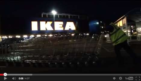 Furniture Store Feline Experiments - IKEA Let 100 Cats Run Rampant in