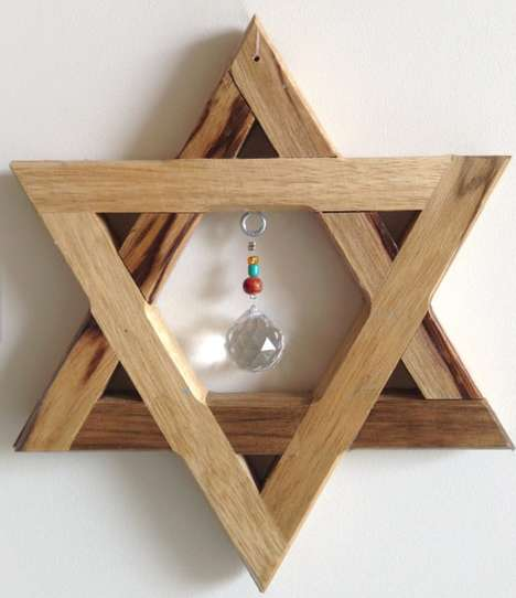 Jewish Ornamental Suncatchers - These Window Decorations are Excellent Gift Options for the Holidays