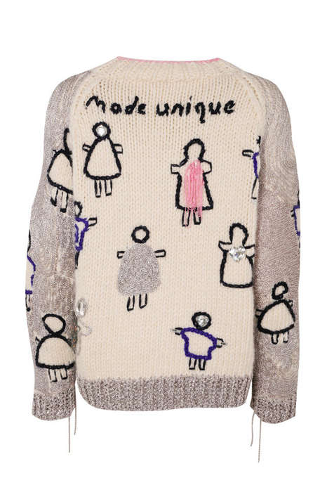 Couture Charity Christmas Sweaters - Save The Children