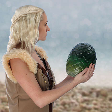 Fantasy Cookie Canisters - This Game of Thrones Dragon Egg Jar is Magically Medieval