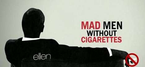 Hilarious Cigarette-Censoring Videos - For the Great American Smokeout, Mad Men
