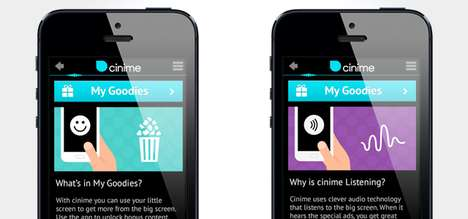 Rewarding Movie-Goer Apps - The Cinime App Encourages UK Film Buffs to Hit the Theater