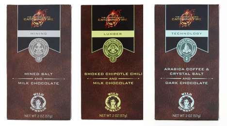 Dystopian Competition Chocolate Bars - Vosges
