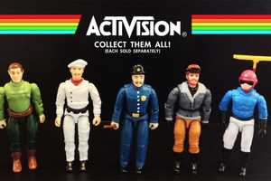 Dan Polydoris' Atari 2600 Action Figures Pay Tribute to Retro Console Games