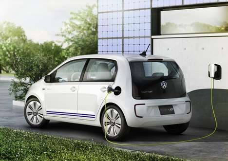 Subtle Hypermiling Car Concepts - The Volkswagen Twin Up! Seats Four and Gets 214 MPG