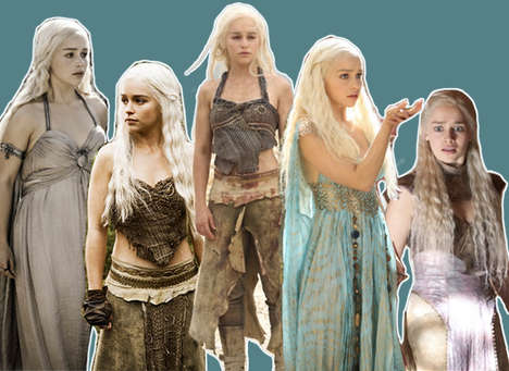 12 Dragon Princess Tributes - These Daenerys Targaryen Dedications Pay Ode to the Strong Female