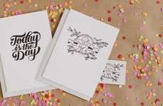 Temporary Tattoo Greeting Cards