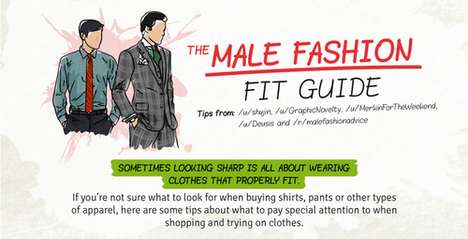 Manly Clothing Size Guides - This Male Fashion Guide Advises How to Choose Clothes That Fit