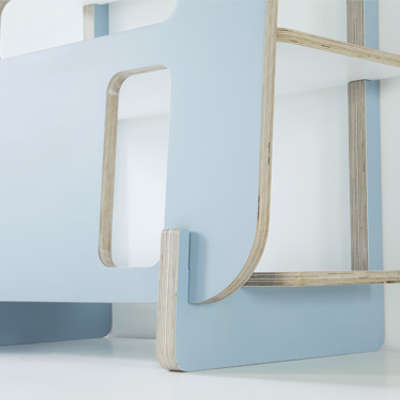 Modular Abstract Shelving - Priscilla_Design Gradosei for Formabilio Lets You Design the Piece