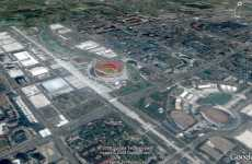 Beijing Olympics on Google Earth