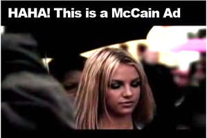 McCain Compares Obama to Britney Spears and Paris Hilton