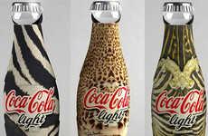 Designer Diet Coke - Roberto Cavalli Bottles