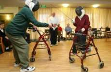 Active Aging - Fencing and Sword Fighting Seniors in Australia