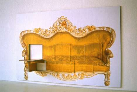 Furniture as Wall Art - burJET Fold-Out Picture Seating