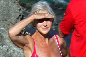 Senior Helen Mirren is #3