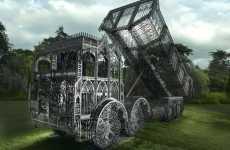 Ornate Construction Vehicles