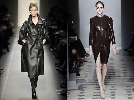 Oil Spill Inspired Fashion - Runways Blacked out for Fall