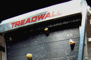 Climb Forever on a 'Treadwall'