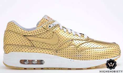 Olympic Lifestyle Gold Shoes - Nike Limited Edition Metal