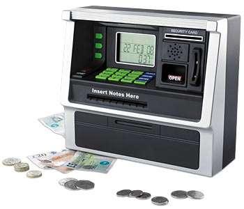 Mini ATM Machines - The Piggy Bank of the Millennium