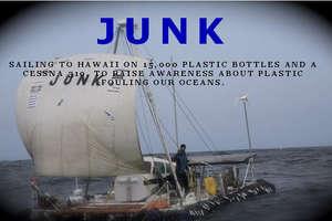 Algalita Awareness Sail for Ocean Pollution