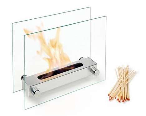 Table Top Fireplaces - 'Apoll' Candle Alternative