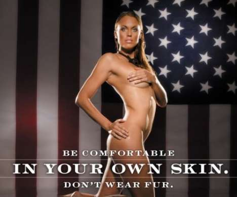Olympic Activists - Amanda Beard Naked for PETA