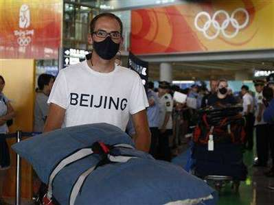 Olympic Masks - US Cycling Team Prepared for Beijing Smog