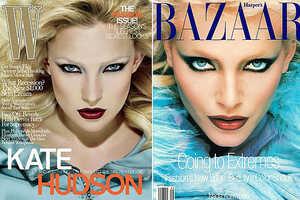 Kate Hudson on W Mimics 1994 Harper's Bazaar