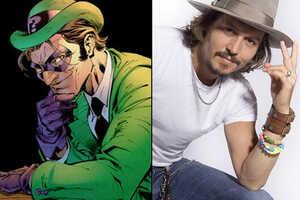 Johnny Depp as The Riddler?