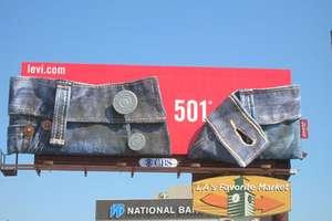 Sexy Levi's 501 Billboard