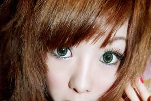 Extra Large Contact Lenses For Cartoon-Style Eyes