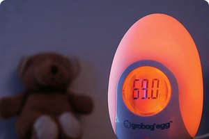Grobag Egg Changes Color To Monitor Room Temperature