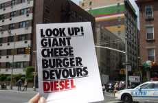 "Public Art Cheeseburgers - The Diesel ""Good Life"" Wall"