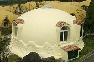 Styrofoam Dome Houses