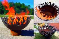 Recycled Steel Fire Pits - Great Bowls of Fire