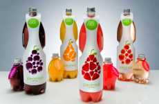 Innovative Drink Packaging - 'Peared' Juices by Conor Hagan