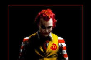 The Joker As Ronald McDonald