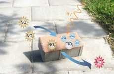 Air Cleansing Concrete - Solar Activated Eco Paving