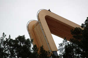 Award Winning Wooden Lookout in Norway