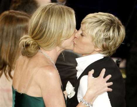 Celebrity Lesbian Weddings - Portia de Rossi and Ellen DeGeneres to Wed