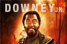 Robert Downey Jr. Becomes Black Man in Tropic Thunder