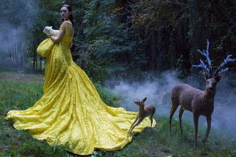 Ethereal Fairytale Editorials - The Harper