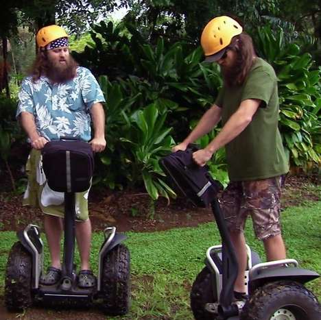 Red Neck-Inspired Segways - A Camouflage Two-Wheeler Segway is Built for Country Adventure