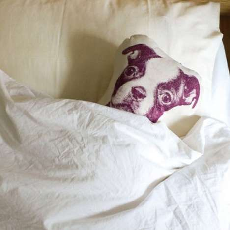 Precious Pet Substitute Pillows - This Puppy Pillow by Fauna Will Melt Your Heart