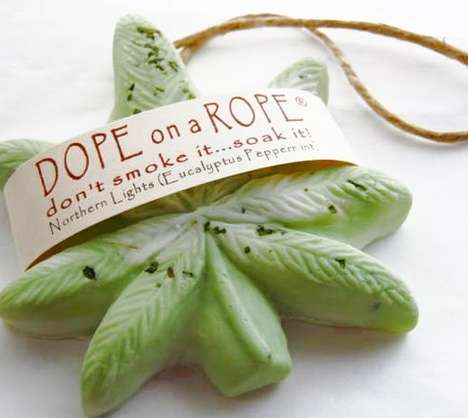 Cannabis Soap Ornaments - Etsy's DopeOnARopeSoap Shop Creates Cannabis-Themed Cleaners