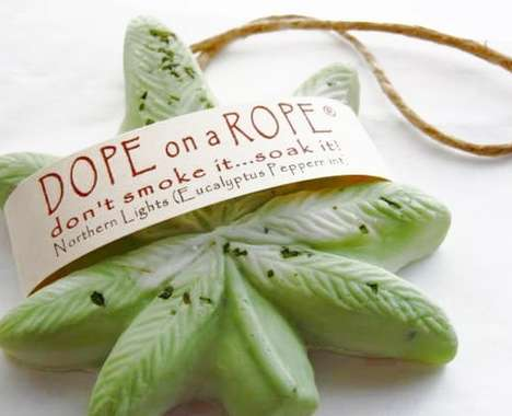 Cannabis Soap Ornaments
