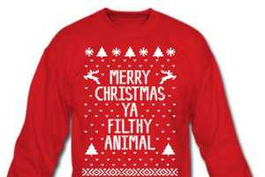 45 Tacky Christmas Clothing Examples  - From Cuddly Christmas Cat Skirts to Holiday Headphones