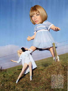 17 Anna Wintour Tributes - Vogue Editor Anna Wintour is Quite the Artistic Target